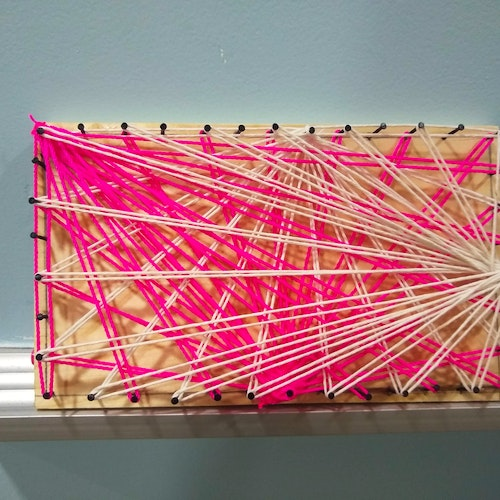 1 String Art Completed