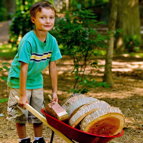 Dpn Boy With Wheelbarrow