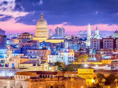 Downtown-Havana-Night
