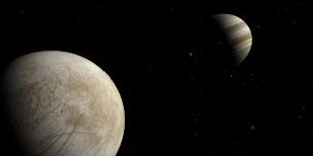 Europa Io And Jupiter Cr Guillermo Abramson
