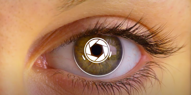 Eyes and Iphones Become One