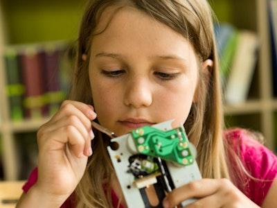 Girls In Stem Robotics 9