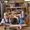 Girls In Stem Woodworking 1