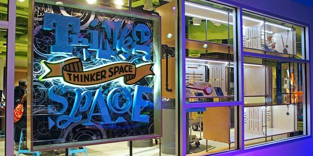 Thinkerspace Entrance Web