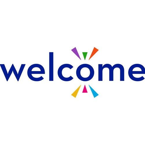 Welcome Logo Card