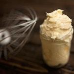 Mason jar butter
