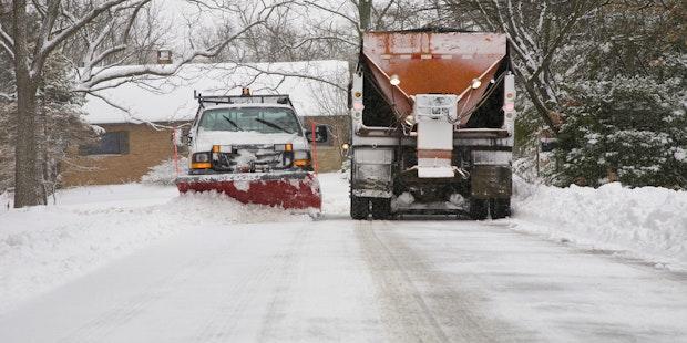 Salt Scraper Trucks