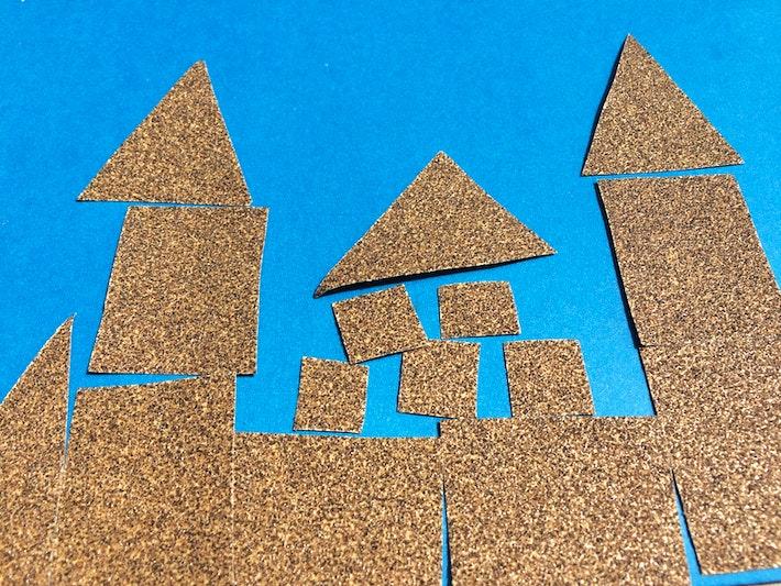 1 sandpaper sand castles