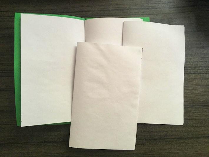 DIY Field Guide 2 Blank Journal