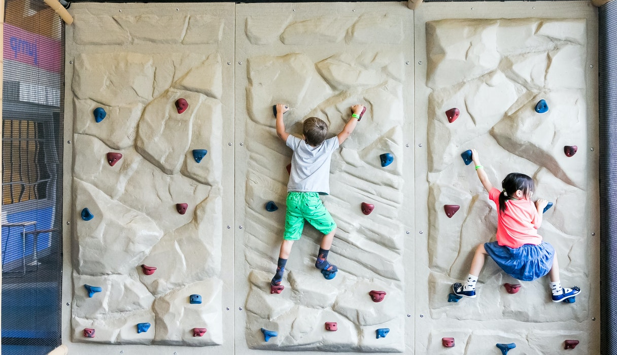 Exhibitions I Can Be Healthy Climbing Wall