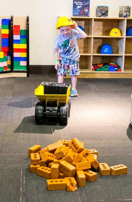 Exhibitions I Can Build Brick Boy