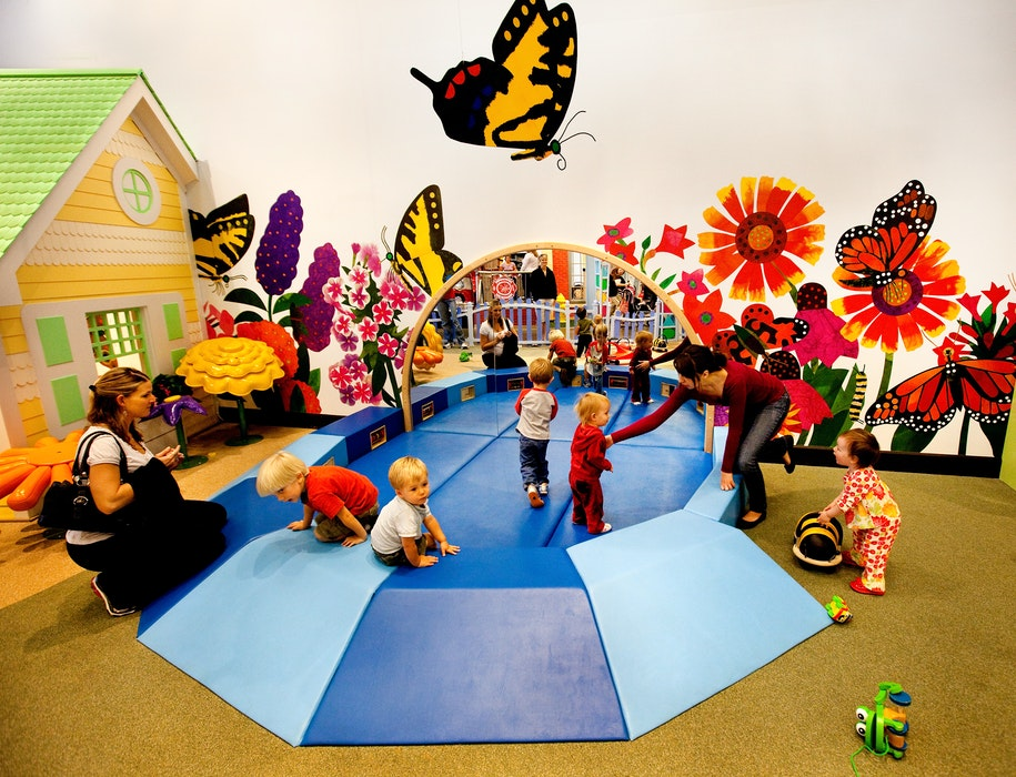 Exhibitions I Can Grow Soft Play