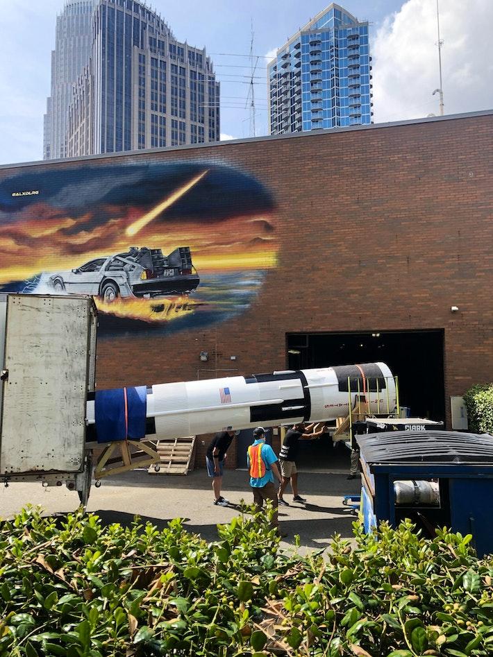 Rocket Incoming