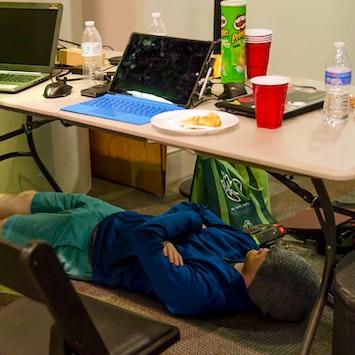 Hackathonclt Man Sleeping Inset