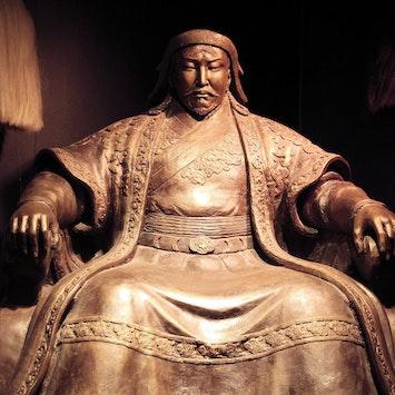 Khan Statue
