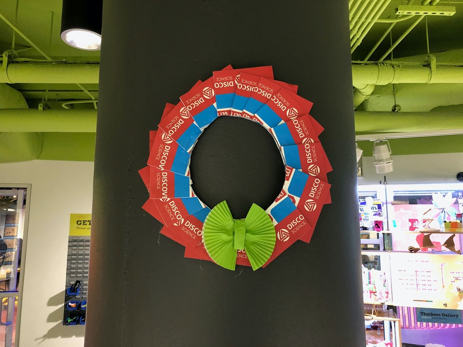 Recycle Wreaths